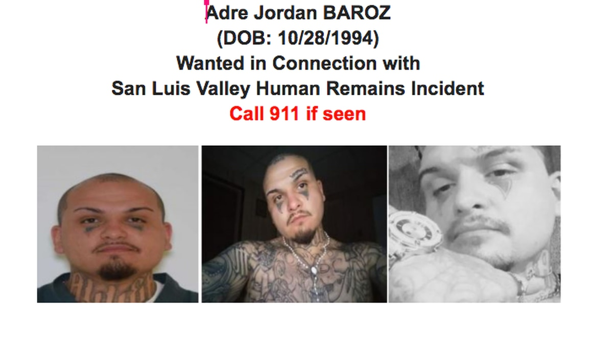 Adre Jordan Baroz, known as Psycho, is wanted for homicide.