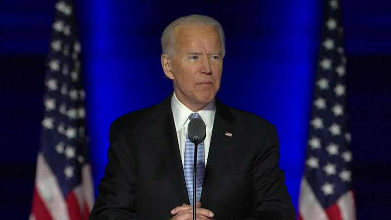 With the acknowledgement from the General Services Administration, the Biden team will have...