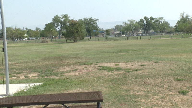 Baseball field at Lincoln Park in Grand Junction