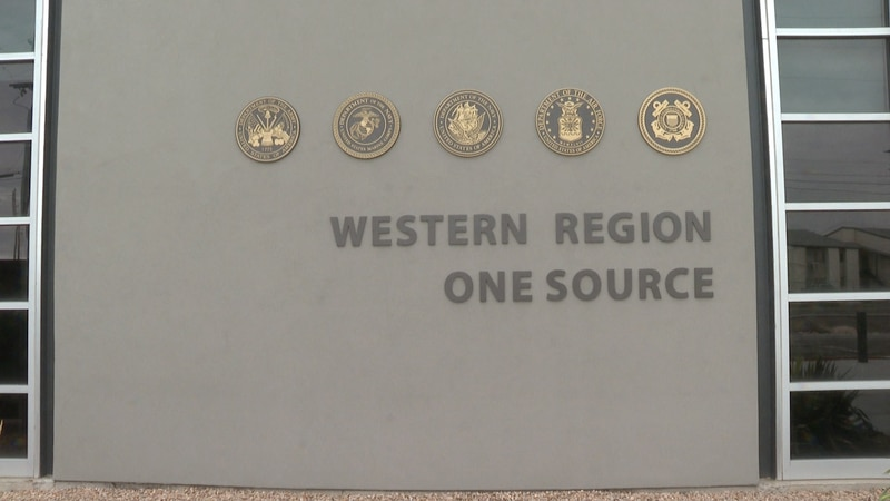 Western Region One Source sign outside the main building
