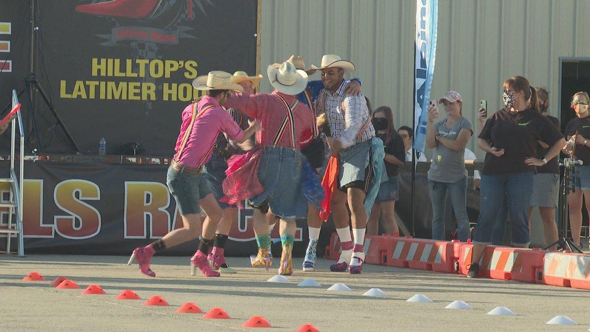 11th annual Men in Heels race