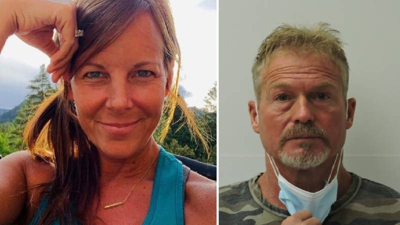 LEFT: Suzanne Morphew was reported missing in May of 2020. RIGHT: Her husband, Barry, was...