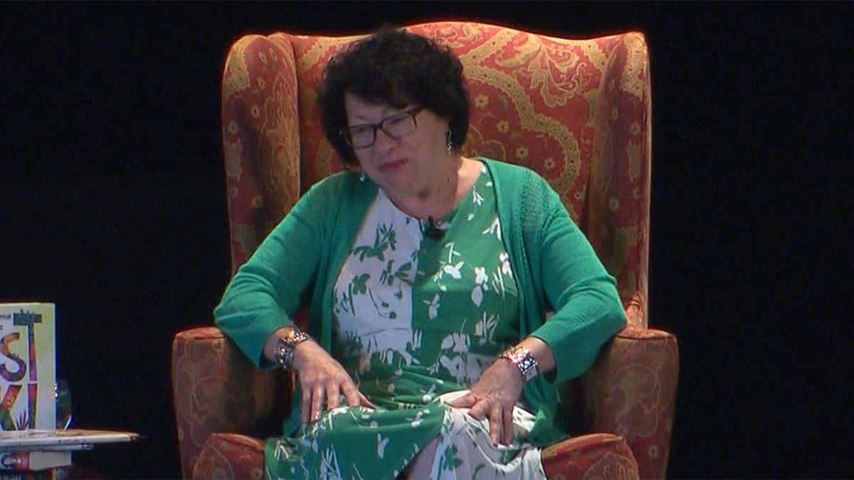 Supreme Court Justice Sonia Sotomayor was targeted by a lawyer who shot and killed a judge's...
