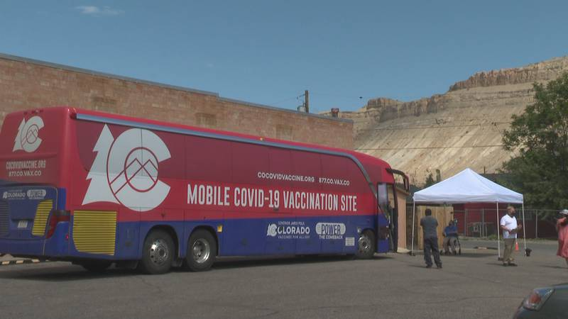 The bus will travel from Palisade to Fruita, where it will be at Civic Center Park on Saturday