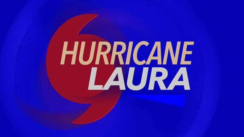 Hurricane Laura swept through Louisiana Wednesday night.