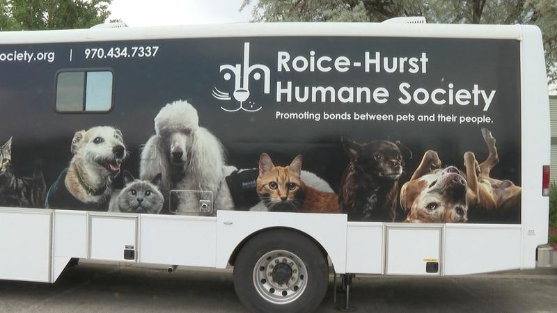 Roice-Hurst Humane Society trailer