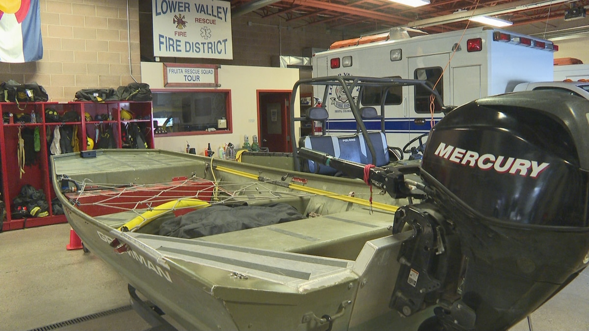Inside the Lower Valley Fire District's Fruita station.
