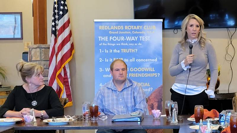 The Redlands Rotary Club hosted a forum for the open Mesa County Valley School Board Director...
