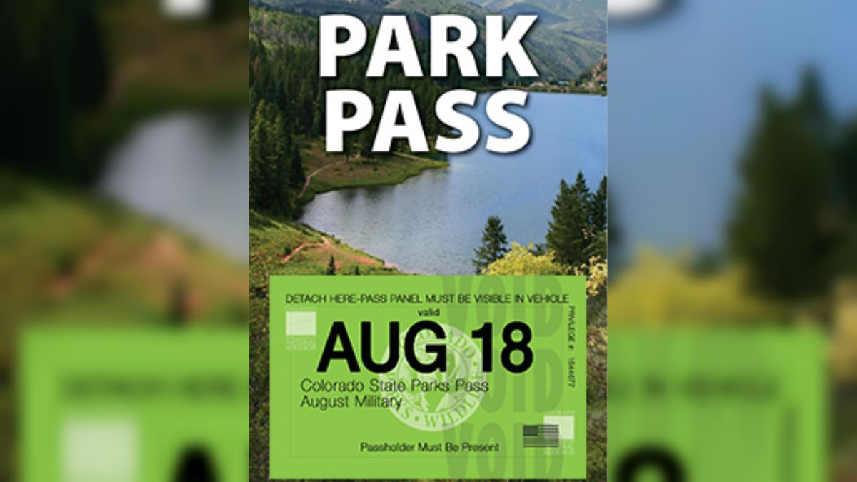 August state parks pass. Photo: Colorado Parks and Wildlife