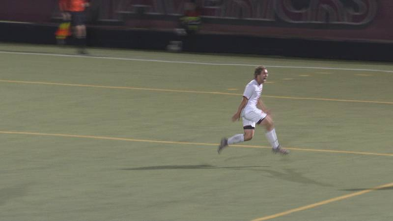 CMU forward Alec Fronapfel is off to a fast start, with 2 goals including a game-winner