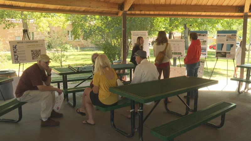 Community meeting at Lincoln Park in Grand Junction 9/21