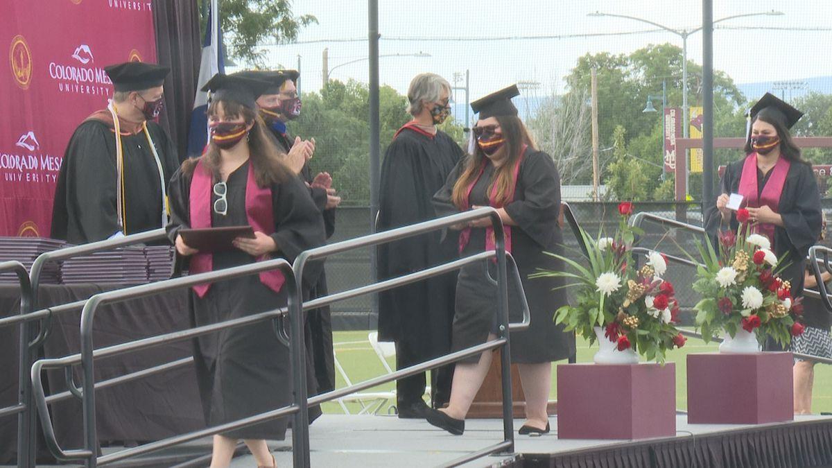2020 graduates walk the stage of CMU