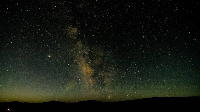 Milky Way Galaxy from the Elk Creek Campground Image by Troy Hunt