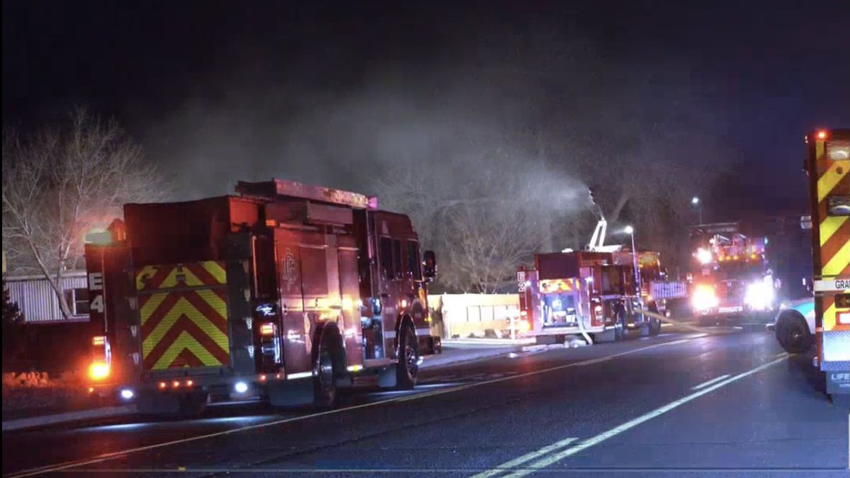 A house fire on Orchard Ave. near 29 rd. in Grand Junction, it happened around 4 a.m. this...