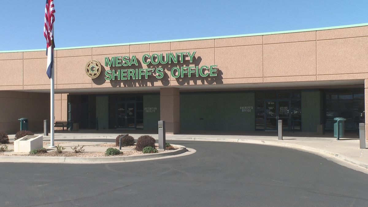 The outside of the Mesa County Sheriff's Office.