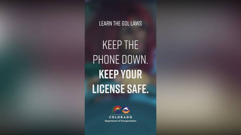 CDOT reminding teens about the importance of state's teen driving laws