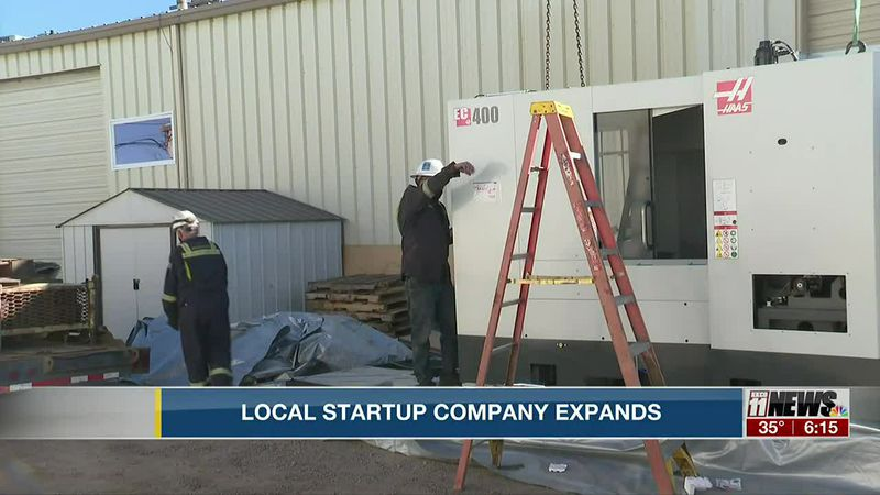 Local Start-up Company Expands