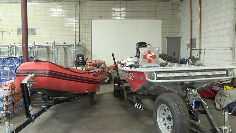 Grand Junction Search and Rescue boats
