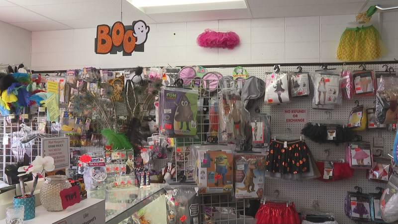 Shortages in Halloween inventory