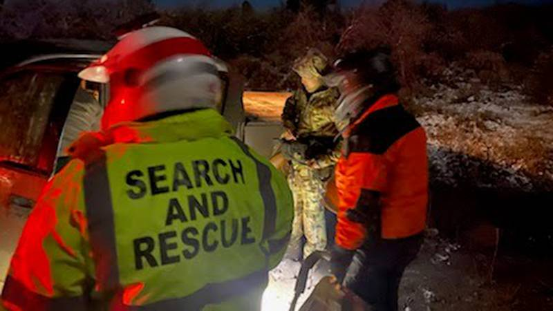 Mesa County Sheriff's Office rescues three hunters