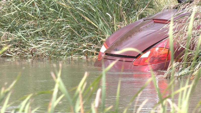 Authorities removed the vehicle from the canal on Sat., Sept. 18.