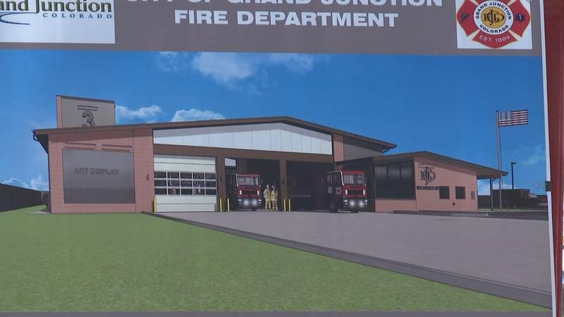 Design plan for GJFD's new Fire Station 3