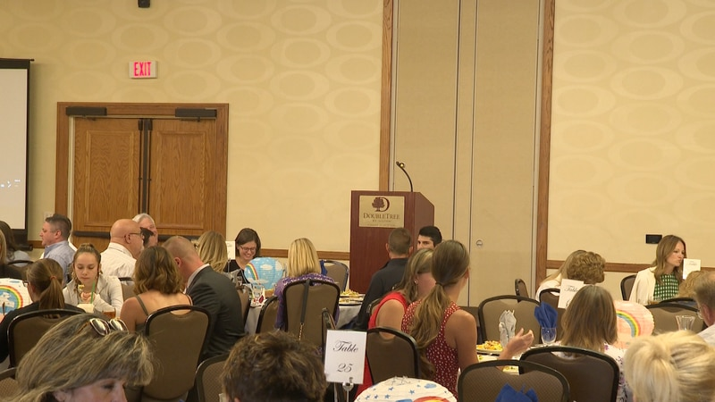 Attendees at Center for Children luncheon event