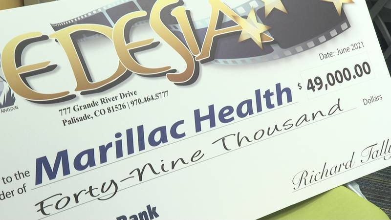 Marillac Health raised funds for patient care through the Edesia event in Palisade, Colo.